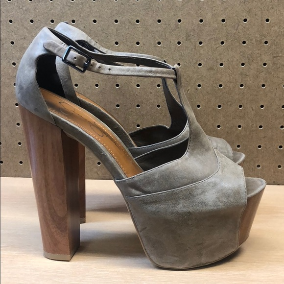 f49813ce9b4 Jessica Simpson Shoes - Jessica Simpson Dany Platform Sandal Heels sz 7